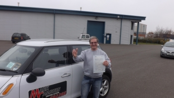 I would like to say big thank you mark for getting me through my test Mark is an excellent driving instructor Mark is friendly patient and calm he explains things in detail when I did things wrong A few of my family members have passed their test with Mark I would have no hesitation in recommending Mark to anyone starting lessons Thank you Mark